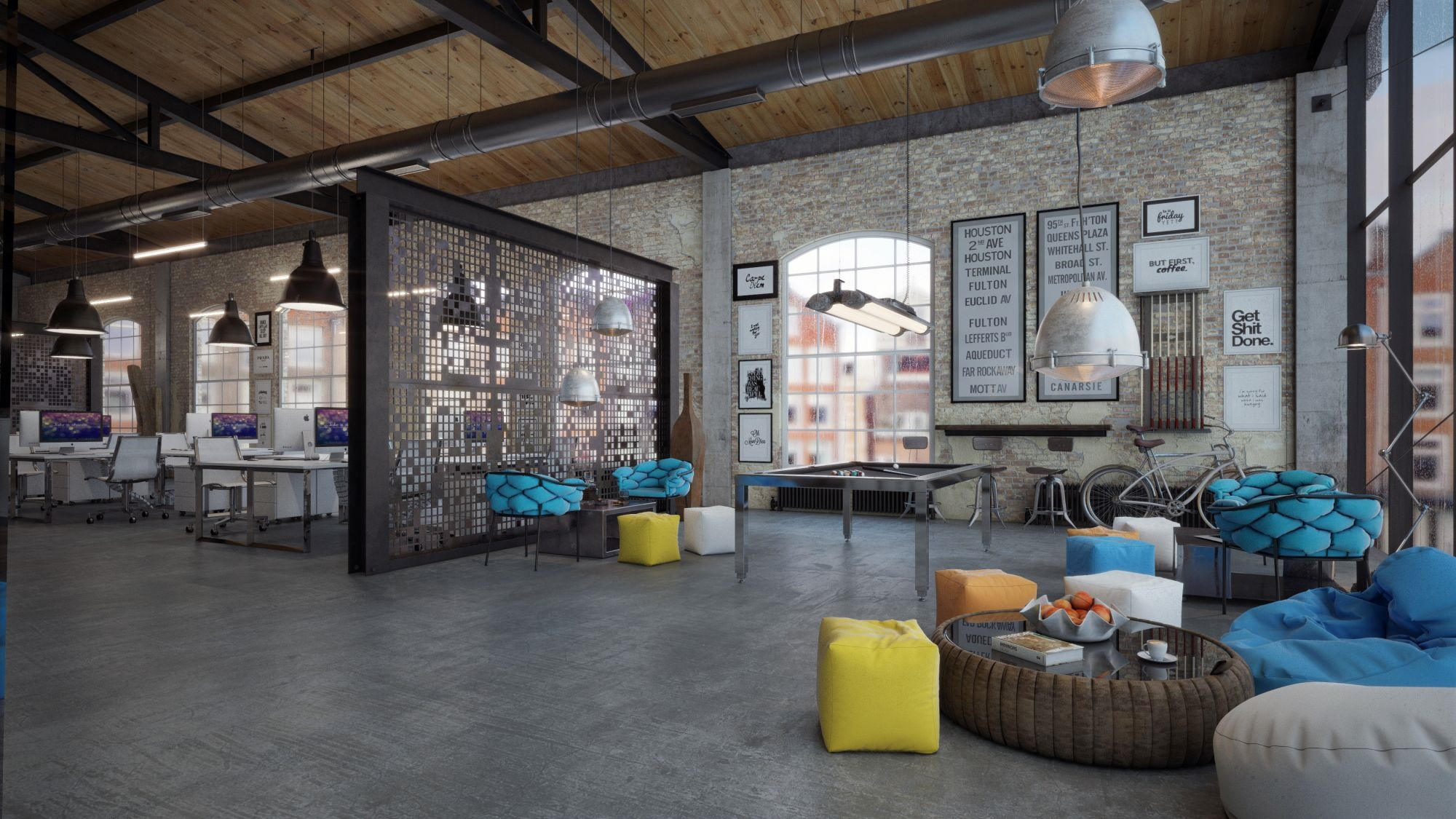 18 for Loft office design ideas