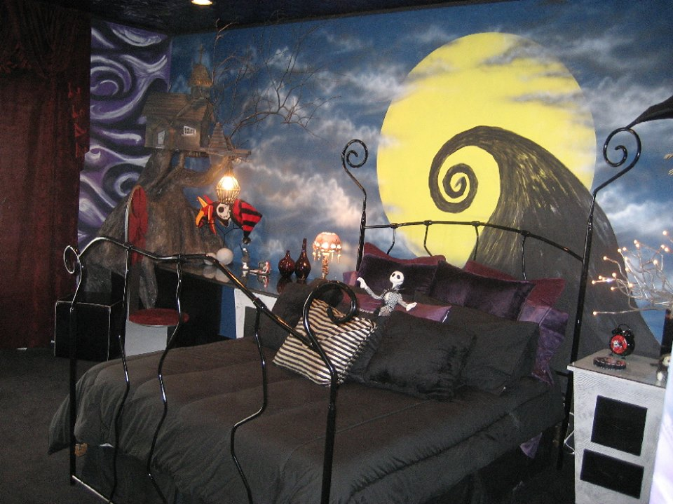 nightmare_before_christmas_bedroom_theme